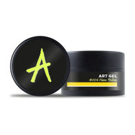 Art Gel #004 Neon Yellow, 7г