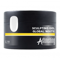 Astonishing Sculpting Gel Global White, 14 мл - ярко-белый гель