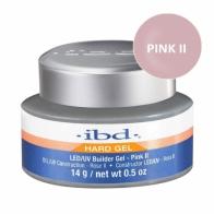 LED/UV Гель IBD Builder Gel  Pink II 14g, розовый камуфлирующий гель