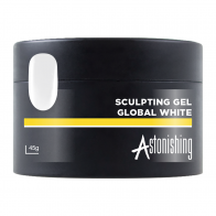 Astonishing Sculpting Gel  Global White, 45 мл - ярко-белый гель