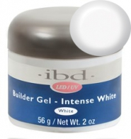 LED/UV Гель IBD Builder Gel Intense White 56g, ярко-белый моделирующий гель
