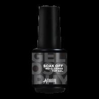 Gelosophy Soak Off No-Cleanse Top Gel, 15ml
