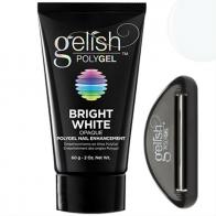 Gelish PolyGel Bright White Ярко-белый полигель, 60 г.