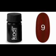 Гель-краска KODI Professional, №9, 4мл