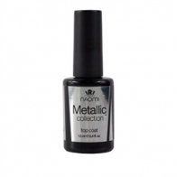 Naomi Gel Polish Metallic Collection Top Coat, 12мл