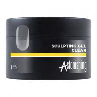 Astonishing Sculpting Gel  Clear, 45 мл - прозрачный моделирующий гель