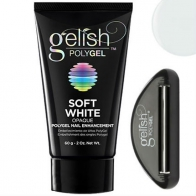 Gelish PolyGel Soft White Натуральный белый полигель, 60 г.