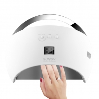 LED+UV SUN 6 Professional Nail Lamp 48 W белая