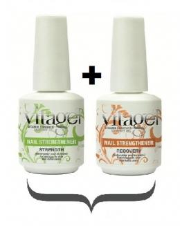 Набор:VitaGel Recovery, 15мл + VitaGel Strength, 15мл