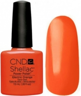 Гель-лак CND Shellac Electric Orange 7,3мл
