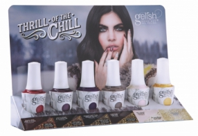 Гель-лак Gelish The Thrill Of The Chill, набор 6 шт.