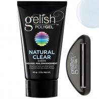 Gelish PolyGel Natural Clear Прозрачный полигель, 60 г.
