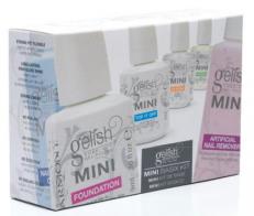 Gelish Harmony Mini Basix Kit - стартовый набор препаратов для гелей-лаков Gelish