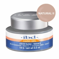 LED/UV Гель IBD Builder Gel  Natural II 14g, натуральный камуфлирующий гель