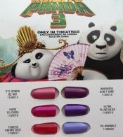 """Палитра гелей-лаков из коллекции """"Kung Fu Panda"""""""