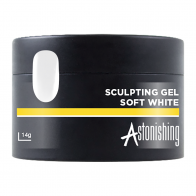 Astonishing Sculpting Gel Soft White, 14 мл -  мягко-белый гель