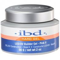LED/UV Гель IBD Builder Gel  Pink II 56g, розовый камуфлирующий гель
